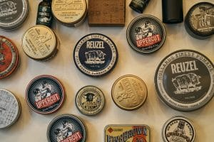 Variety of pomade products