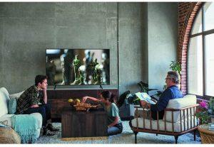 Samsung Flat 55-Inch 4K UHD 7 Series Ultra HD Smart TV