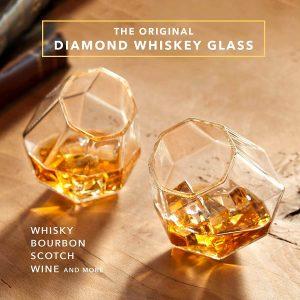 Dragon Diamond Whiskey Glass
