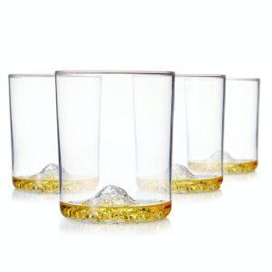 Whiskey Peaks Glass